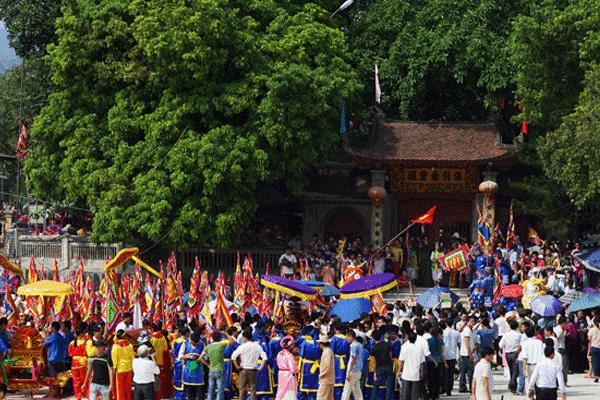 Ngôi đền linh thiêng, thu hút hàng vạn du khách thập phương mỗi năm
