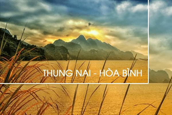 Hãy thử đến với Thung Nai, ngắm cảnh sắc giữa sông Đà lộng gió. Ảnh st
