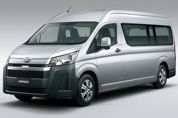 Toyota Hiace phiên bản 2019 - 2020. Ảnh st