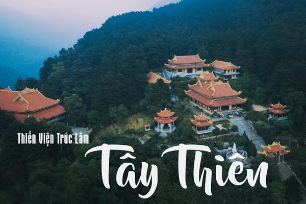 Cảnh quan của Thiền viện Trúc Lâm Tây Thiên
