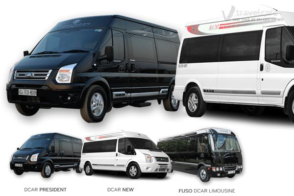 Các dòng xe dcar: President, dcar new, fusi dcar limousine