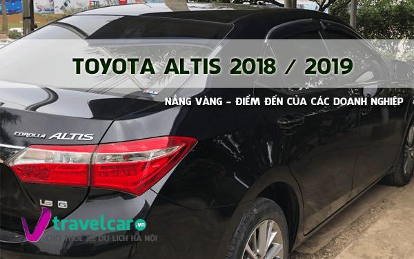 Xe 4 chỗ Toyota Altis