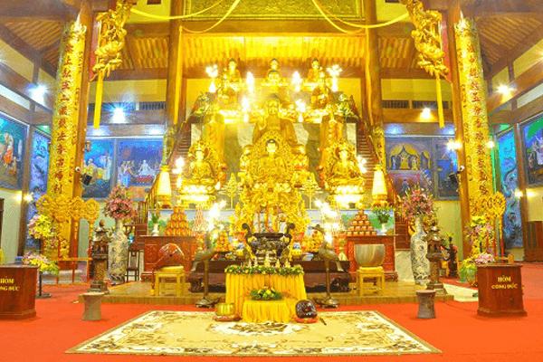 Ngôi chùa có tòa chính điện lớn nhất Việt Nam