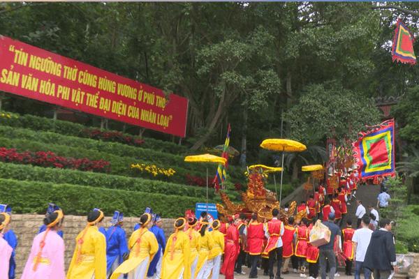 Ðền Hùng - di tích lịch sử văn hóa đặc biệt của quốc gia