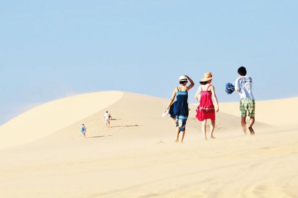 Cồn cát Quang Phú - miền cát dài vô tận. Ảnh st