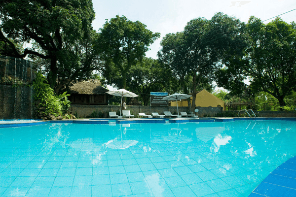 Tản Đà Spa Resort mang không gian yên bình và hiền hoà