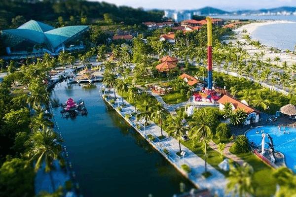 Vinh dự lọt top 5 khu du lịch hàng đầu Việt Nam