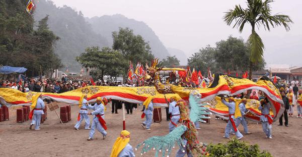 Lễ hội chùa Tiên. Ảnh st