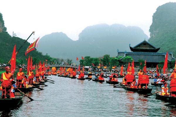 Lễ hội được diễn ra vào ngày 18/3 Âm lịch hàng năm