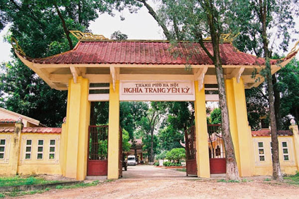 Nghĩa trang Yên Kỳ(Bất Bạt) thuộc huyện Ba Vì, Hà Nội