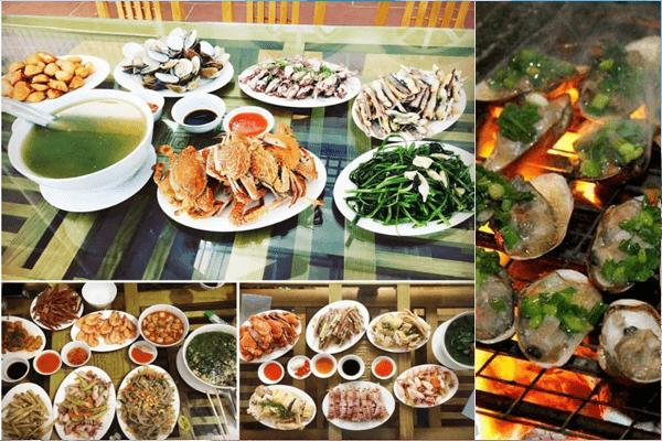 những món hải sản