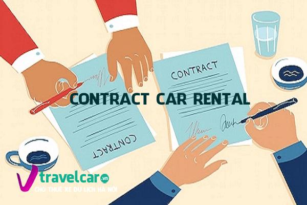 Đọc kỹ hợp đồng thuê xe trước khi quyết đinh