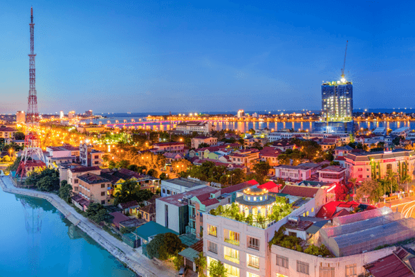 Thành phố Đồng Hới – điểm đến hấp dẫn của tỉnh Quảng Bình. Ảnh st