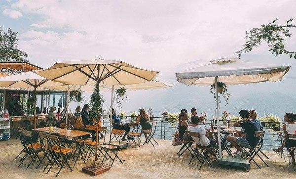 quán cafe trên đỉnh Fansipan