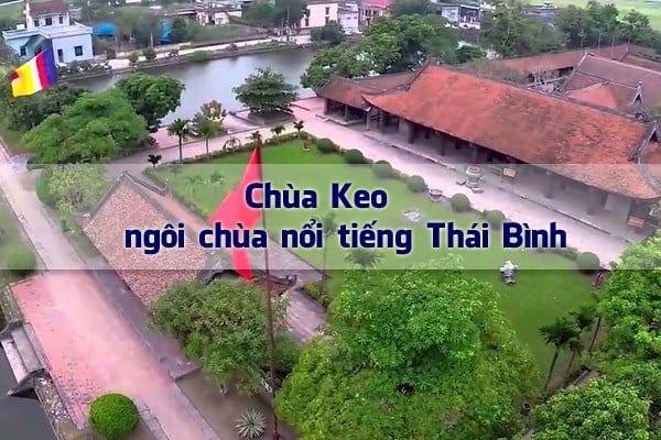 Chùa Keo - Ngôi chùa nổi tiếng ở Thái Bình