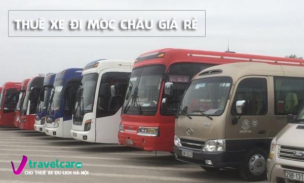 Công ty cho thuê xe 16 chỗ đi Mộc Châu giá rẻ tại Hà Nội.