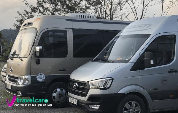 Bảng giá và dịch vụ thuê xe 16 chỗ đi Nghệ An giá rẻ tại Hà Nội