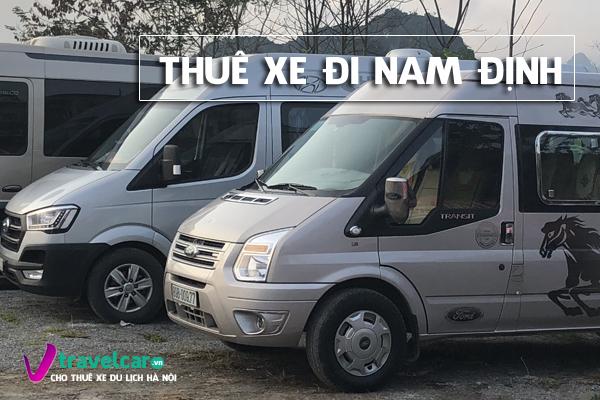 Công ty Nắng Vàng cho thuê xe 16 chỗ đi Nam Định giá rẻ tại Hà Nội.