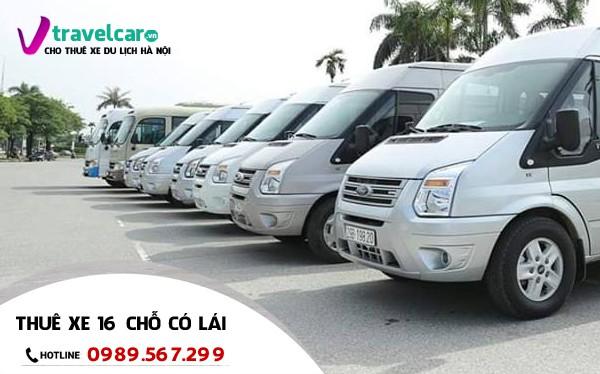 Công ty chuyên cho thuê xe 16 chỗ có lái - uy tín tại Hà Nội