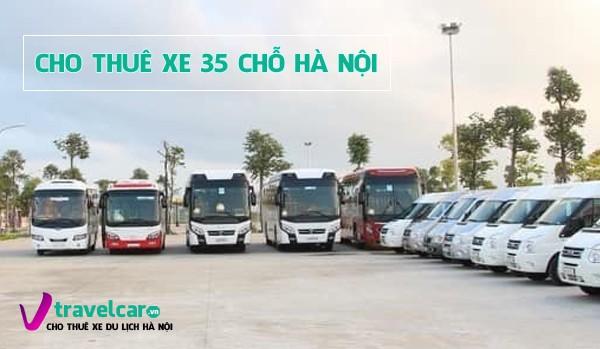 Công ty chuyên cho thuê xe 35 chỗ giá rẻ, phục vụ chu đáo tại Hà Nội