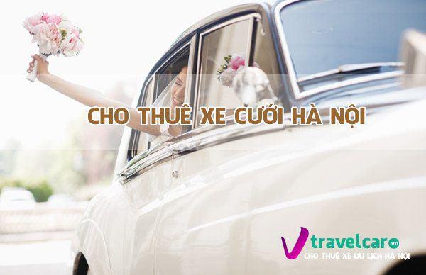 Bảng giá và dịch vụ cho thuê xe cưới giá rẻ 4-45 chỗ tại Hà Nội