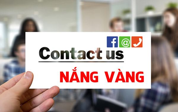 Contact Us - Nắng Vàng