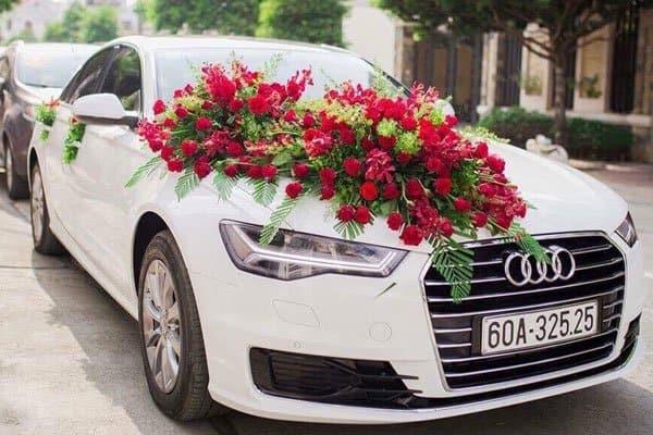 mẫu xe hoa cưới đẹp Audi
